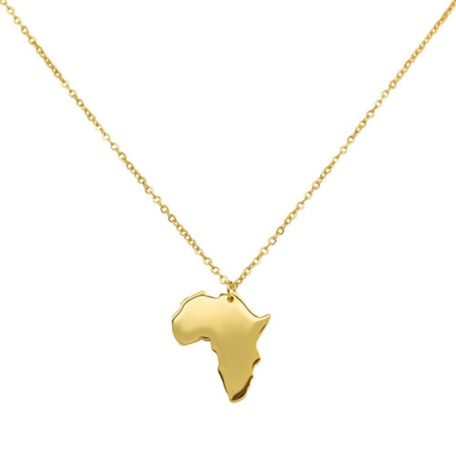 #AFRICA COLLANA IN ORO