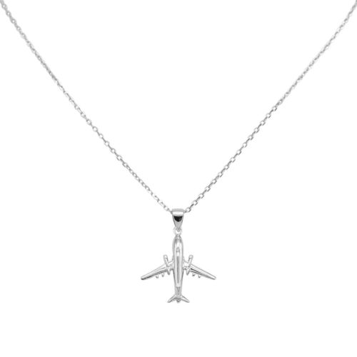 #AIRLINER COLLANA IN ARGENTO